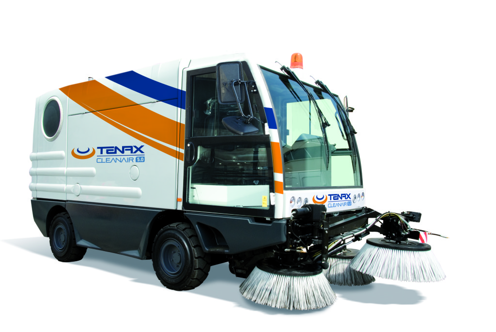 Street washer sweeper