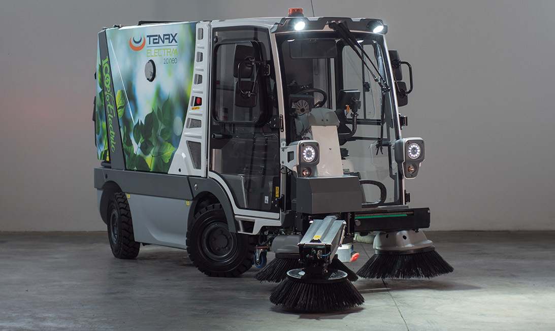 Electric street sweeper Electra 2.0 Neo