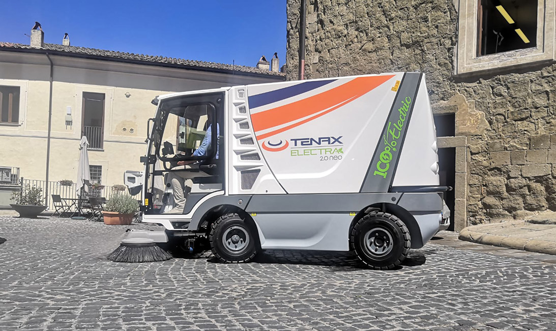 Compact street sweeper Electra 2.0 Neo