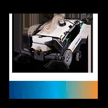 Maxwind | Balayeuse de trottoir 100% Electrique | Tenax