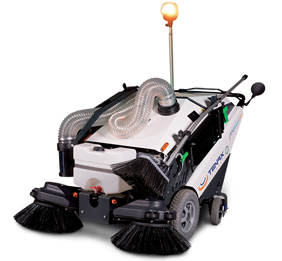Electric sidewalk sweeper Maxwind