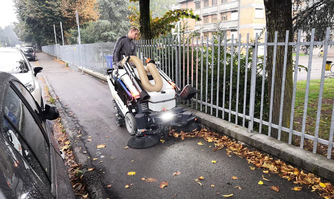 street sweeper Maxwind