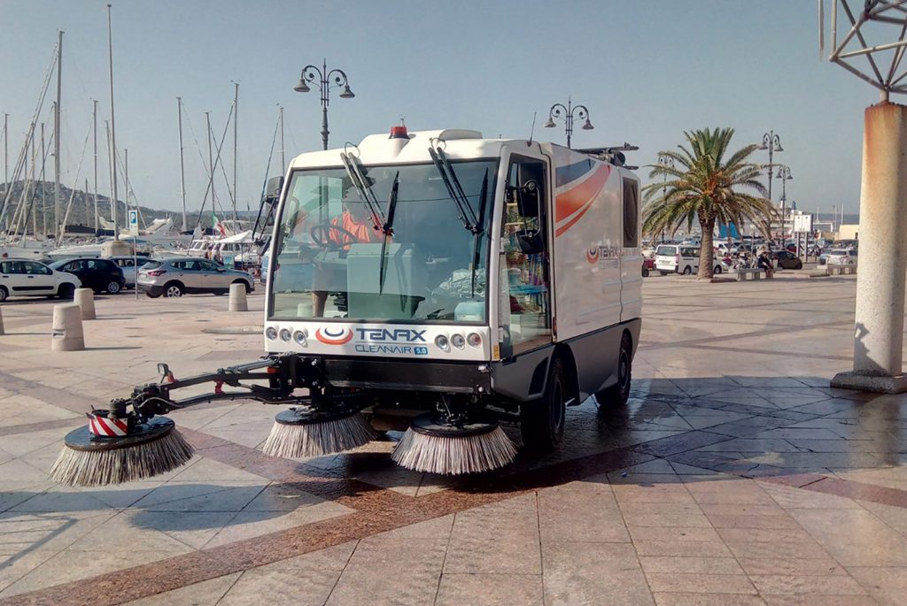 Sweepers urban area application