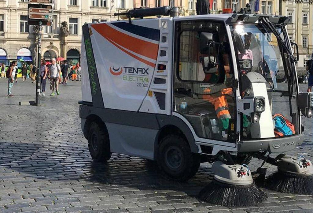 Applicazione urbana spazzatrici